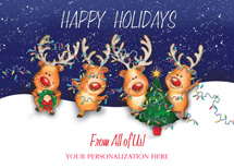 Parade of Lights Holiday Greeting Cards